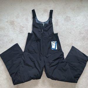 Overall snow pants insulated bib